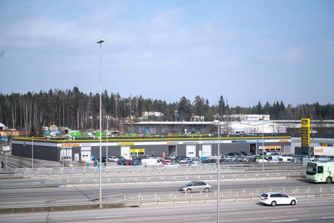 Vantaa Virkamies 40 M2 Asiakasalvelutila Autoalan Toimijalle
